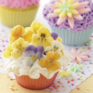 Posy Cupcakes