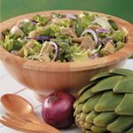Tossed Salad with Artichokes