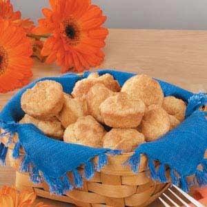 Mini Sour Cream Biscuits