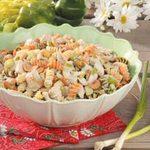 Cashew Turkey Pasta Salad