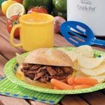 Slow Cooker Barbecue Beef