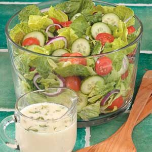 Dilly Romaine Salad