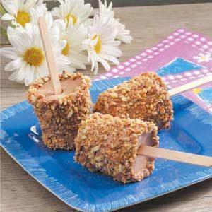 Almond Fudge Pops