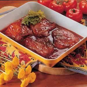 Spiced Pork Chops