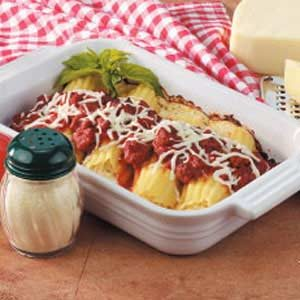 Manicotti for Two