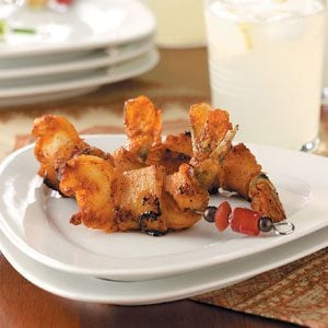 Spicy Bacon-Wrapped Shrimp