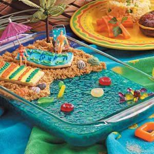 Seaside Gelatin Salad
