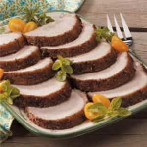 Grilled Herbed Pork Roast