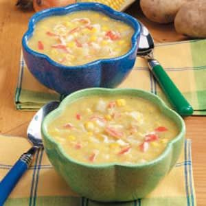 Creamy Corn Crab Soup