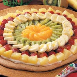 Fancy Fruit Pizza