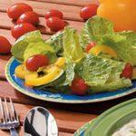 Garden Salad with Lemon Dressing