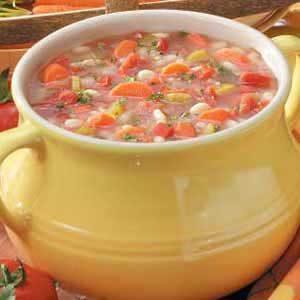 White Bean 'N' Barley Soup