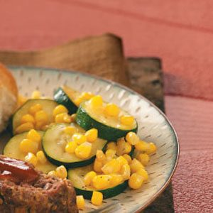 Zucchini Corn Saute