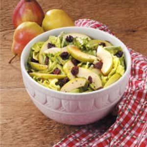 Fruity Green Salad with Honey Dressing