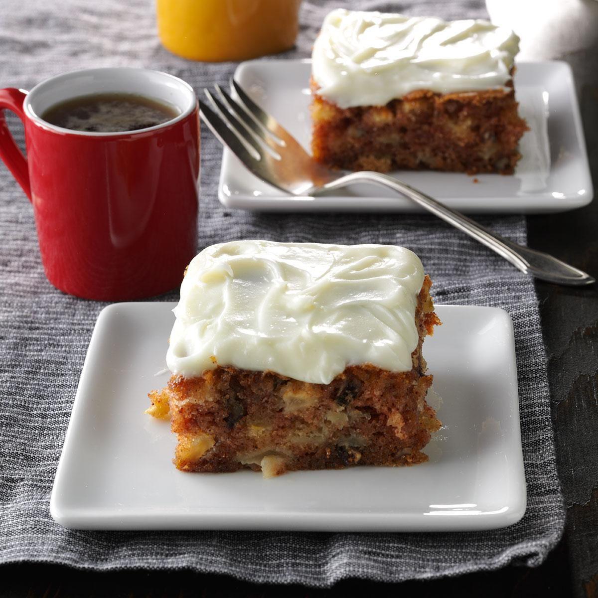 Potluck German Apple Cake Recipe Taste Of Home