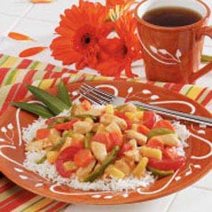 Chicken Pineapple Stir-Fry