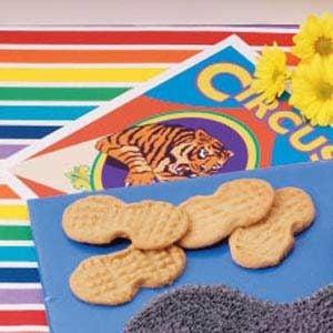 Peanut-Shaped Cookies