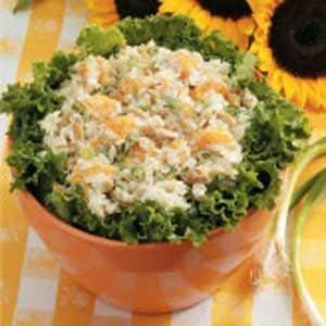 Mandarin Peanut Rice Salad
