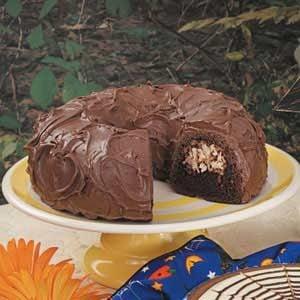 Chocolate Coconut Tube Cake