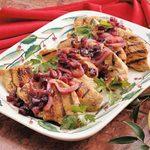 Cranberry Turkey Cutlets