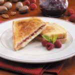 Raspberry Grilled Cheese