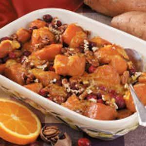 Winning Cranberry Sweet Potato Bake
