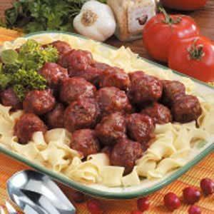 Picante Cranberry Meatballs
