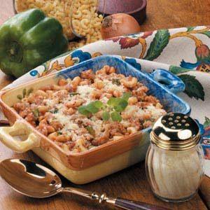 Sausage Macaroni Bake