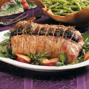 Rosemary Plum Pork Roast