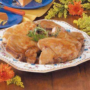 Mustard-Glazed Pork Chops
