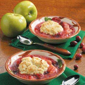 Apple Cranberry Cobbler