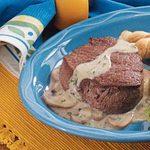 Mushroom Beef Tenderloin