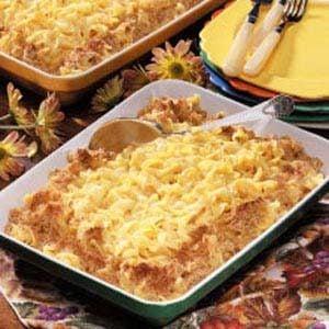 Cheesy Pasta Casserole