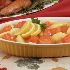 Apple Sweet Potato Side