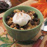 Raisin-Nut Bread Pudding