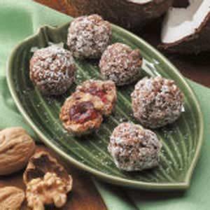 Cherry Walnut Balls