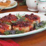 Holiday Cranberry Pork Chops