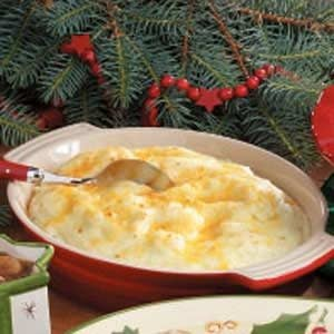 Creamy Cheese Mashed Potatoes