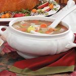 Turkey Rice and Barley Soup