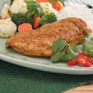Curry Chicken Breasts