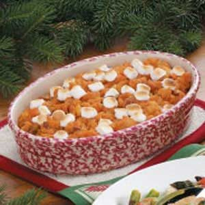 Sweet Potato Pineapple Bake