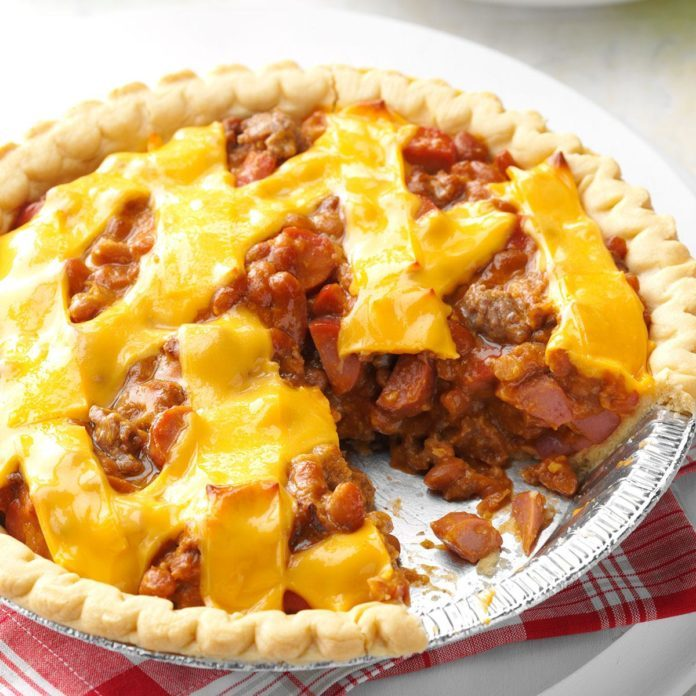 Hot Dog Pie Recipe photo by Taste of Home