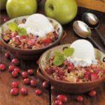 Potluck Cranberry Apple Crisp