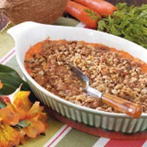Coconut Carrot Casserole