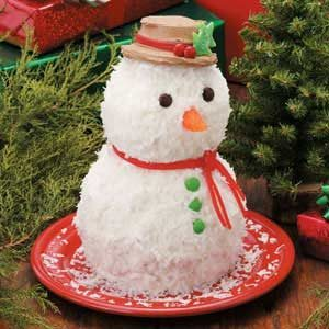 Cake Snowman