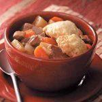 Venison Dumpling Stew