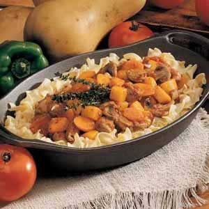 Pork and Winter Squash Stew