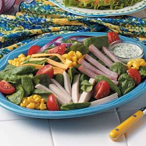 Chef's Spinach Salad