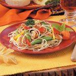 Szechuan Chicken Noodle Toss