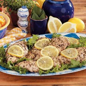 Seasoned Lemon Chicken
